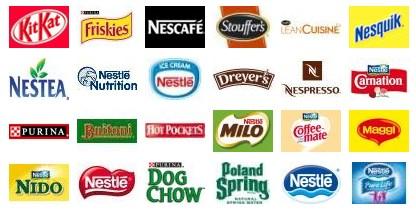 Inversión y marcas de Nestlé