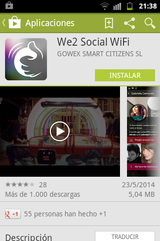 descarga app we2
