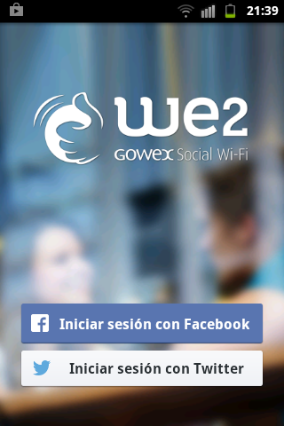 log in facebook para we2