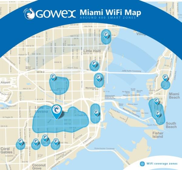 wifi gratis Gowex Miami