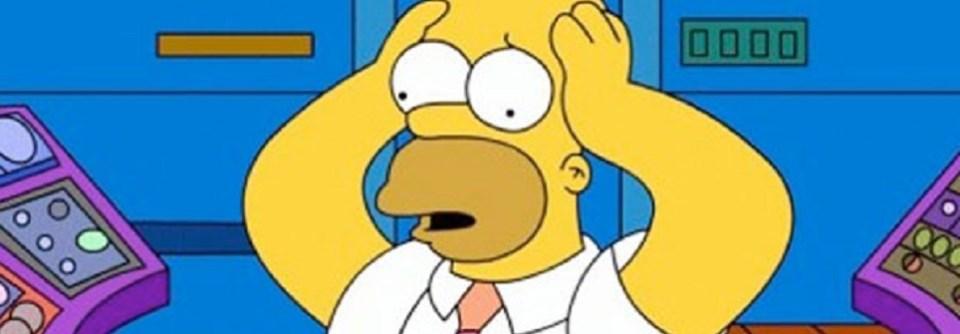 Los Simpsons y acciones de Bolsa de la central nuclear