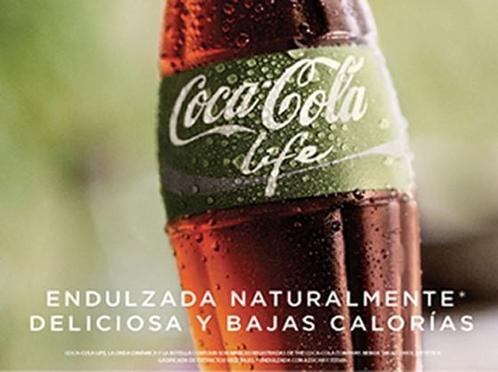 Coca Cola Life con Stevia