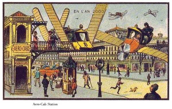 coches del futuro en el siglo XIX
