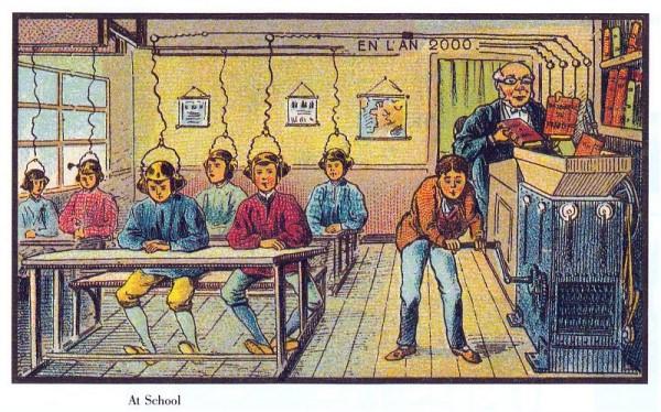 como aprenderán los niños en el colegio del futuro