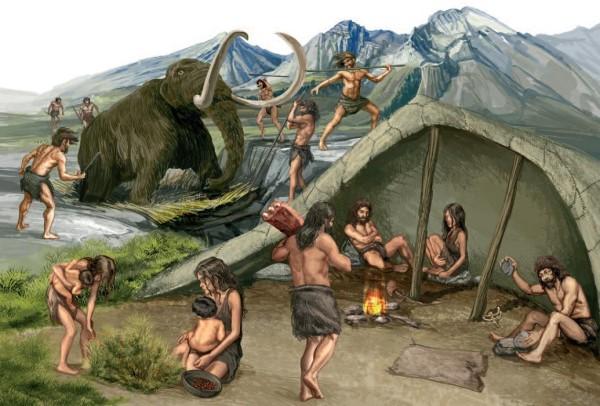 inversión, nombre del paleolítico y sabana