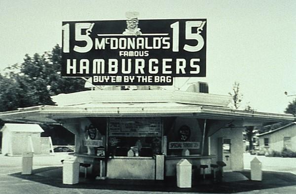 primer restaurante de McDonald´s