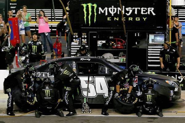 publicidad monster en coches