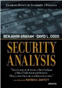 comprar libro security analysis en español benjamin graham