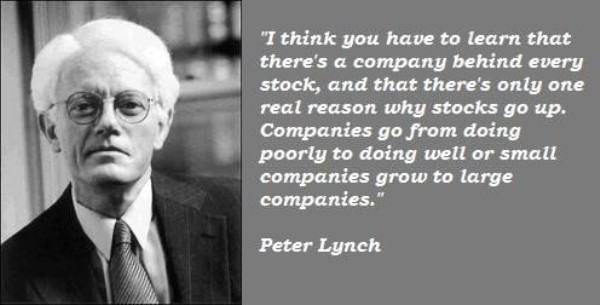 peter lynch frase
