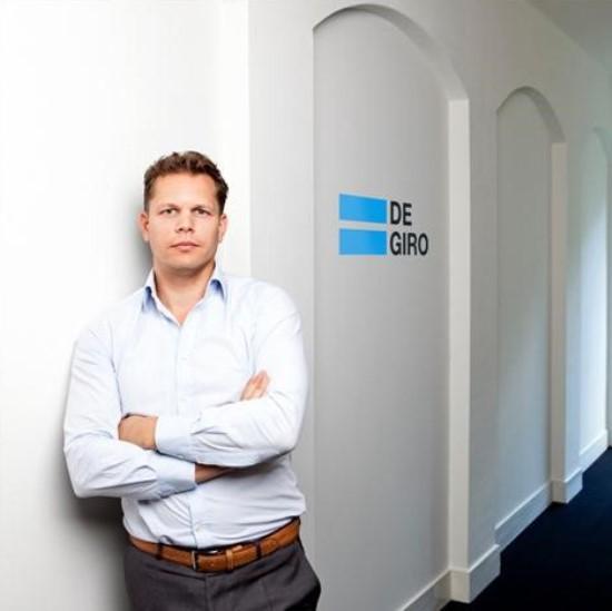 Gijs Nagel fundador del broker más barato de España, De Giro
