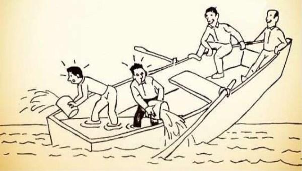 dilema del bote que se hunde