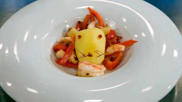 leon come gamba concursante televisión master chef concurso de la uno