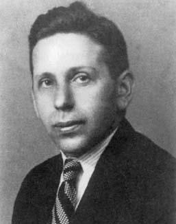 Abraham Wald de joven