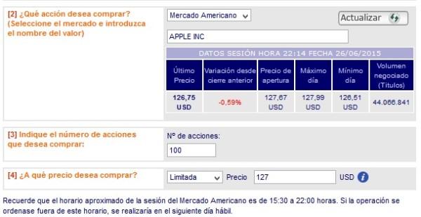 broker para comprar acciones de apple en 2015, 2016 y 2017