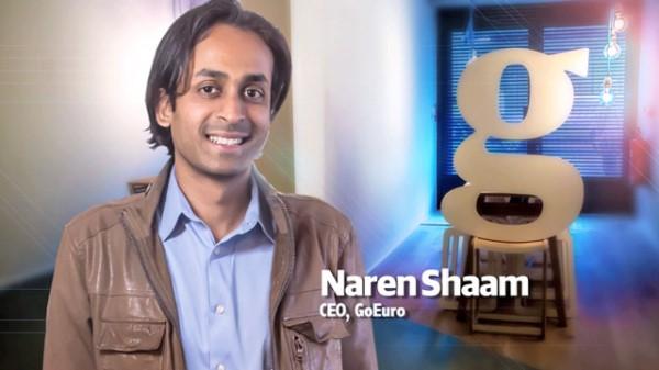 Naren Shaam, fundador y CEO de Goeuro