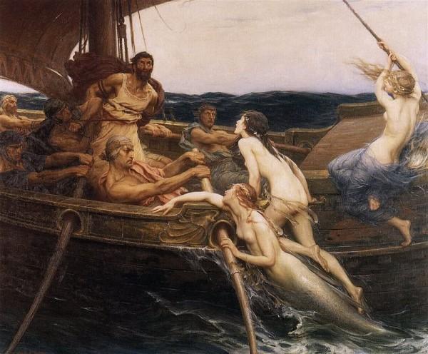 Ulises y las sirenas Ítaca