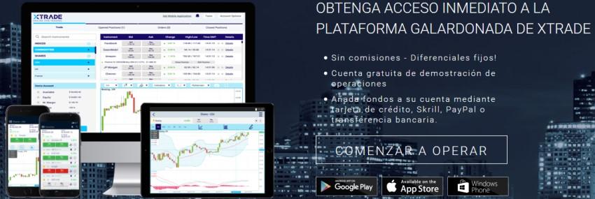 Herramientas de la plataforma de inversión