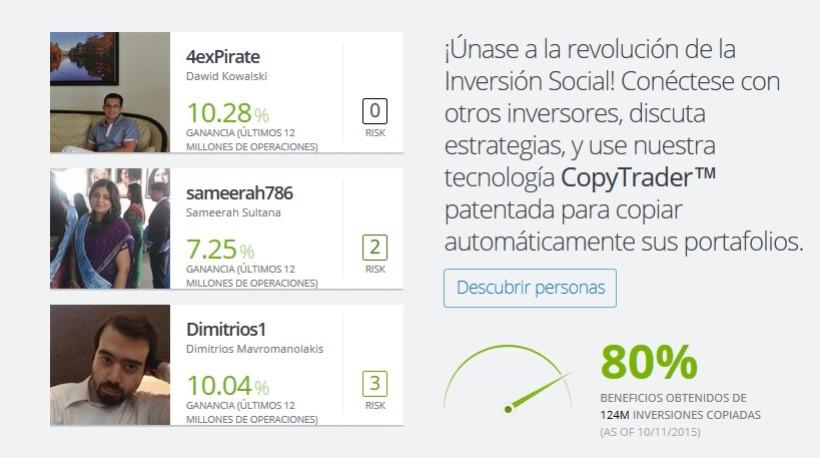 trading social en España en 2017