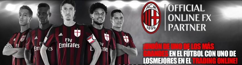 Patrocinio al Milan